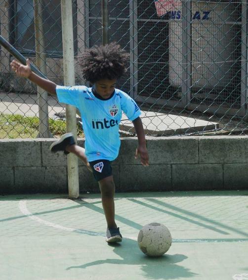 Kit 2 Conjuntos Camisa Short Daniel Alves São Paulo Infantil