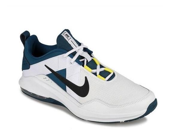 Tenis Nike Air Max Alpha Blanco Tallas De #25 A #30 Hombre