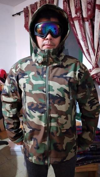 Camperas Softshell Militar