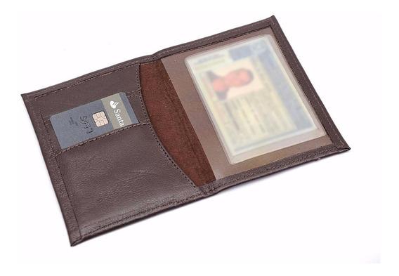 Carteira Com Porta Documentos De Veículos Em Couro Legítimo