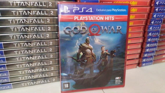 God Of War Ps4 Mídia Física Lacrado Original Português Br