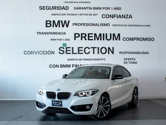 Bmw 220 Coupe Sport Line Automatico