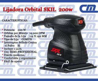 Lijadora Orbital Skil 200w