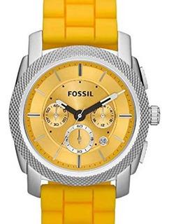 Reloj Cronografo Fossil Fs4807 Dual Time - Hombre -original