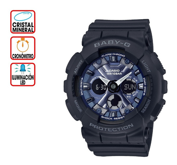 Reloj Casio Baby-g Life And Style Ba-130-1a2