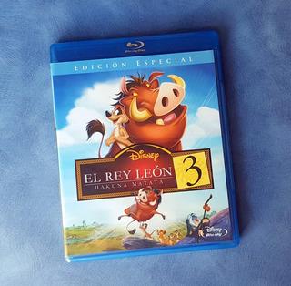 El Rey Leon 3 - Blu-ray - Nuevo!