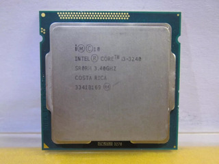 Procesador I3 3240 Usado En Buen Estado Poco Uso Con Fan