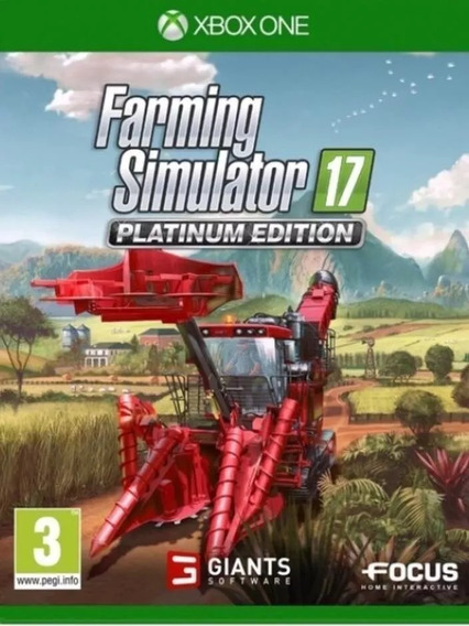 Farming Simulator 17 Platinum Edition Xbox One Offline