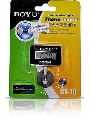 Termometro Digital Submersível Boyu Bt-10 Quadrado Aquarismo