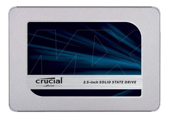 Disco sólido interno Crucial MX500 CT500MX500SSD1 500GB
