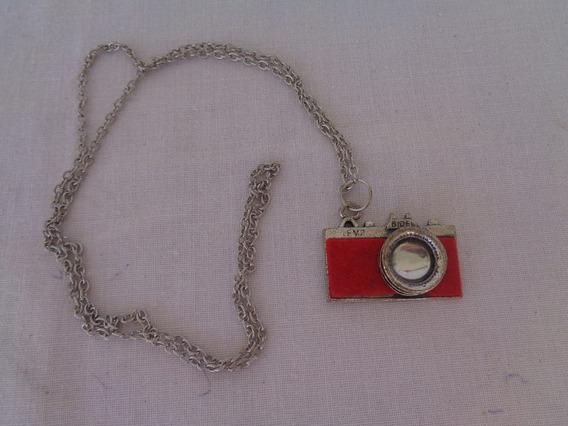 Cordão Maquina Fotográfica Vintage *