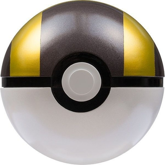 Pokemon Moncolle Pokebola Ultra Ball Original De Metal
