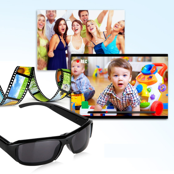 Hd Polarized Sunglasses Camera Video Recorder Dv Camcorder