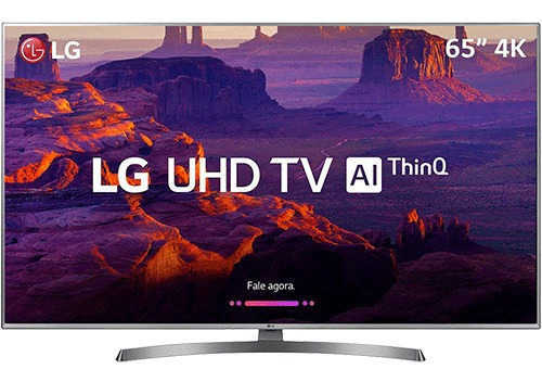 Smart Tv Led LG 65 65uk6530 Ultra Hd 4k Com Conversor