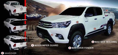 Imagen 1 de 9 de Fenders Toyota Hilux Revo Dx 2016-2018 Con Agujeros Maxliner