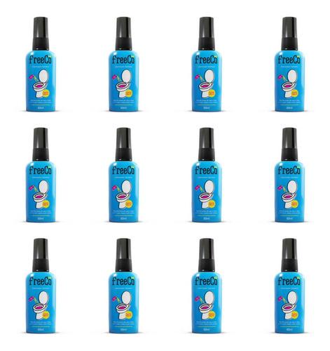 Imagem 1 de 1 de Freecô Tutti-frutti Bloqueado Odor Sanitário 60ml (kit C/12)