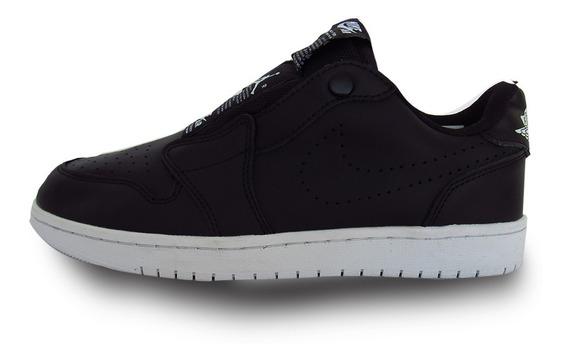 Nike Air Jordan 1 Retro Low Slip Wmns Black