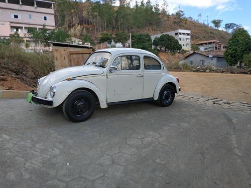 Imagem 1 de 15 de Volkswagen Fusca Branco 1300l