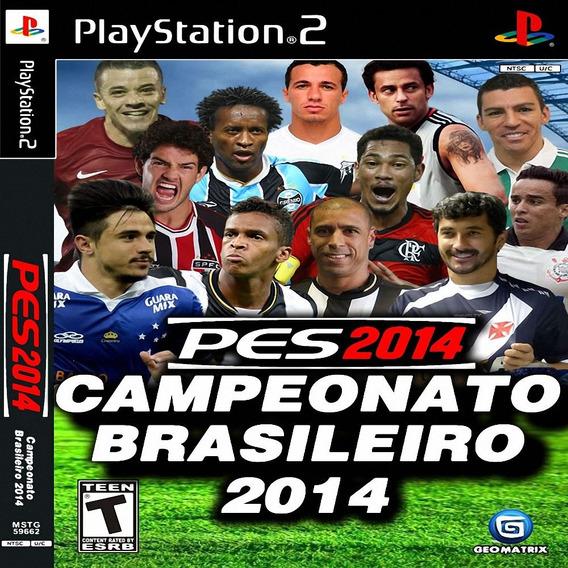 Pes 2014 Pro Evolution Soccer Brasileirão Ps2 Patch