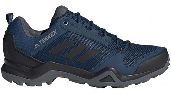 Tenis Masculino adidas Azul Terrex Ax3 Trilha Original