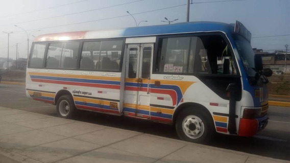 Microbus Couster Marca Jac Año 2008 Con Ruta Activa.