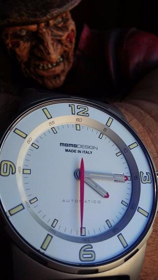 Relógio Momo Design - Automático - Diver - Made In Italy Eta