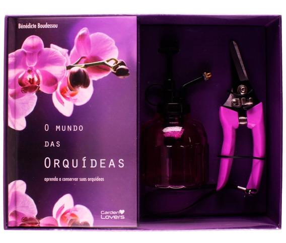 Kit Cultivo E Conservação De Orquídeas - Mundo Das Orquídeas