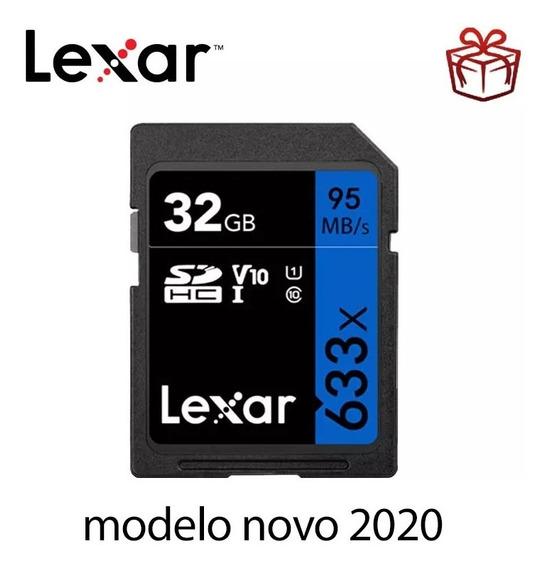 Cartão Sd 32gb Lexar Original Garantia 95mb/s Frete Grátis