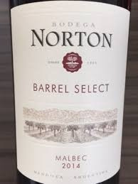 Vino Norton Barrel Select Malbec 750 Solo Envios