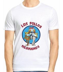 Los Pollos Hermanos Envío Gratis Caballero Dama Ht-tshirt