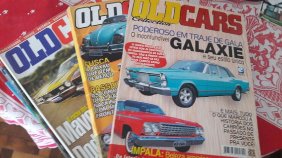 Lote De Revistas Old Cars