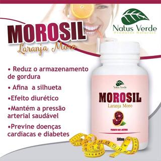 Morosil 500mg Laranja Moro 100 Capsulas