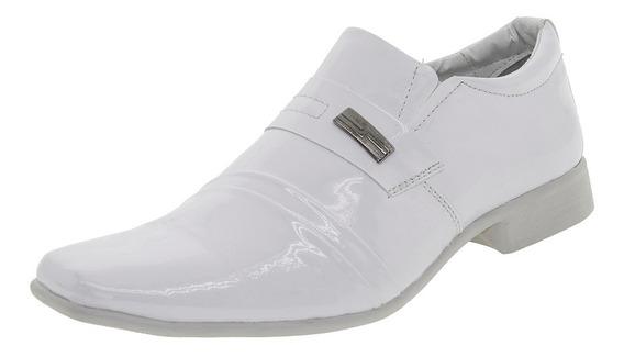 Sapato Masculino Social Branco Street Man - 254