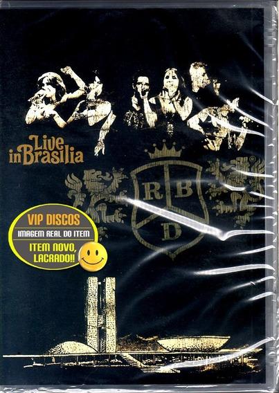 Dvd Rbd Live In Brasilia - Original Novo Lacrado Raro!!