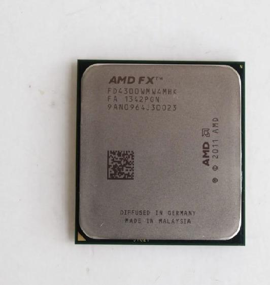 Amd Fx-4300 3.8ghz Am3+, Quad Core + Cooler