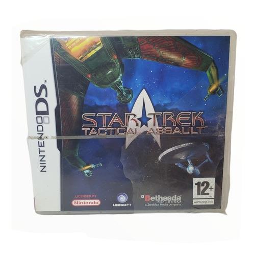 Imagen 1 de 4 de Juego Star Trek Táctical Assault Físico Sellado Nintendo Ds