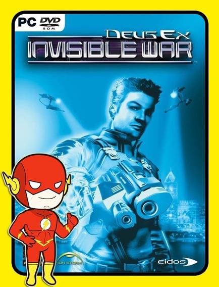 Deus Ex Invisible War Pc - Steam Key (envio Flash)