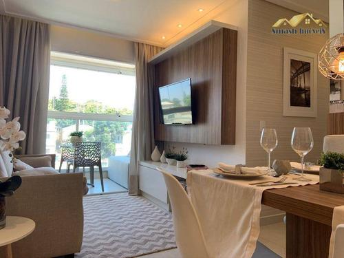 Imagem 1 de 30 de Apartamento Com 2 Dormitórios À Venda, 50 M² Com Suíte E Varanda Grill - Ponte Grande - Guarulhos/sp - Ap0127