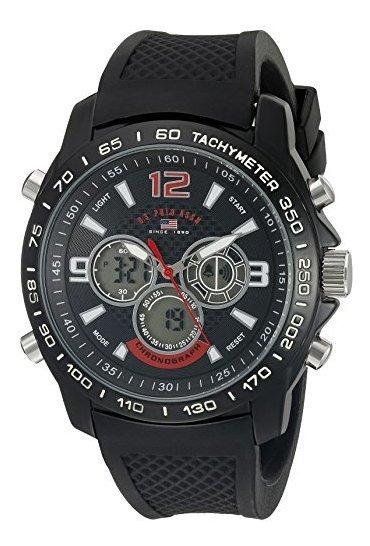 Polo Assn. Sport Us9555 Reloj De Cuarzo Analógico Y Digital