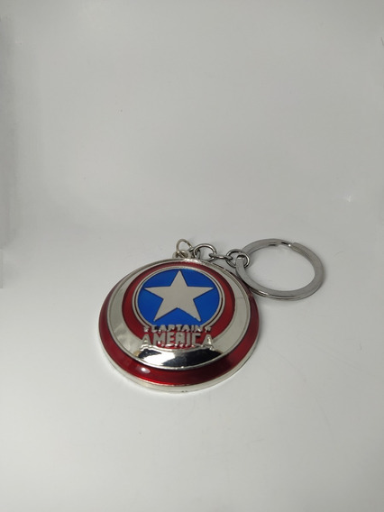 Llavero Escudo Capitan America Avengers Vengadores Marvel