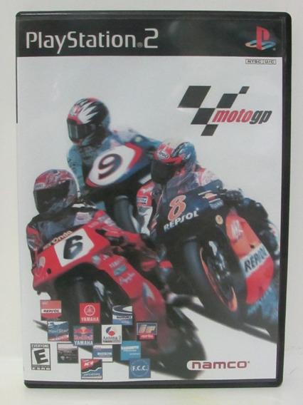 Moto Gp - Game Playstation 2 Original Com Manual