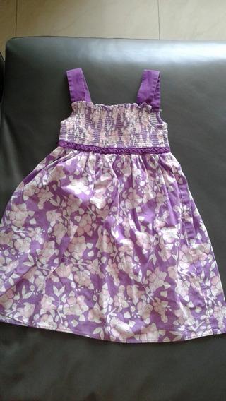 Vestido Para Niña De Tiras Talla 4
