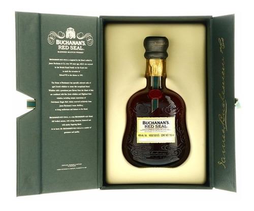 Imagen 1 de 8 de Whisky Buchanan´s Red Seal 750ml En Estuche