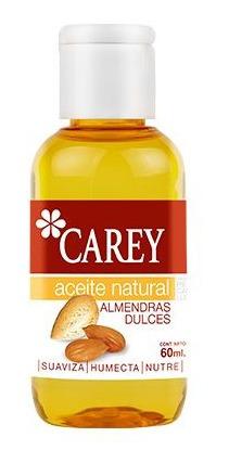 Aceite Natural Carey Almendras Dulces 60 Ml.
