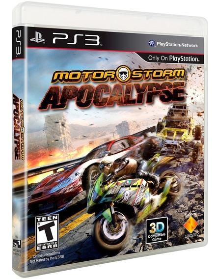 Ps3 Motorstorm: Apocalypse Novo Lacrado