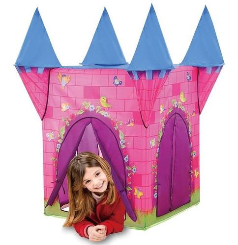 8162 Carpa Nenas Casa Castillo Princesas 110x110x132cm