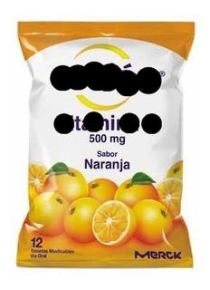 Enciclopedia Cebion 500mg 12 Tabletas Se Disuelve Con Agua