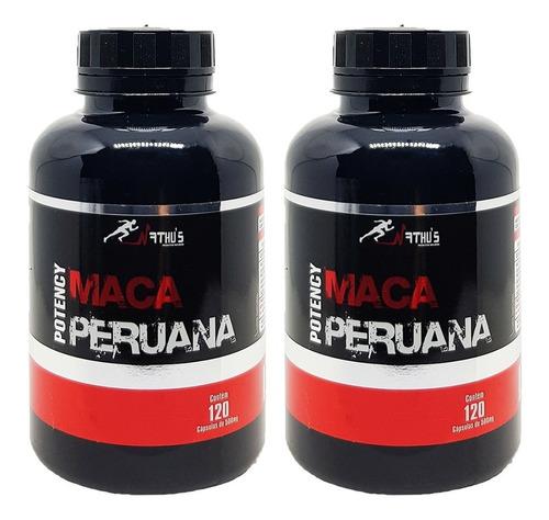 Maca Peruana Original Pura Libido Natural 240 Cápsulas