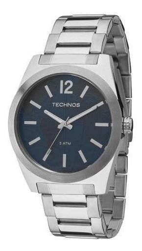 Relógio Masculino Technos Original 2036mey Aço C Nf Garantia