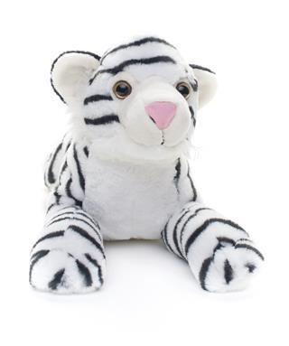 Peluche De Tigre Blanco 50cm